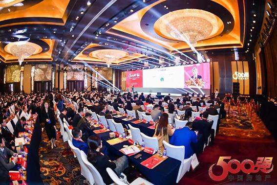 王力连续六年斩获中国房地产开发企业500强首选供应商