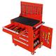 五抽带背板工具车-JS-316