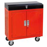 带顶盒双开门汽修工具车 -JS-303