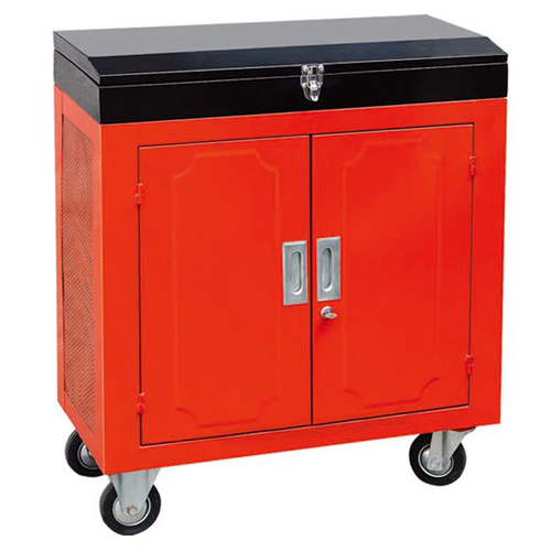 带顶盒双开门汽修工具车-JS-303