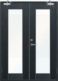 玻璃防火门 -JH-BF-003(氟碳漆)