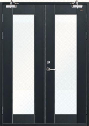 玻璃防火門-JH-BF-003(氟碳漆)