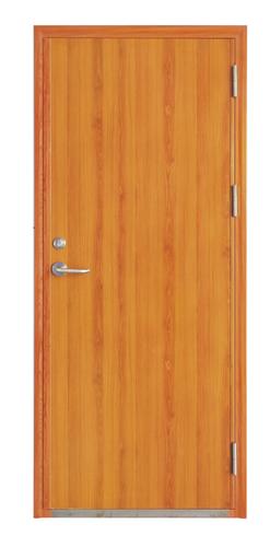 钢木免漆板防火门-