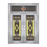 特种钢装门系列 -JT-8806(精品花)