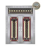 特种钢装门系列 -JT-8807(精品花)