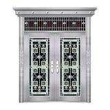 特种钢装门系列 -JT-8803(精品花)