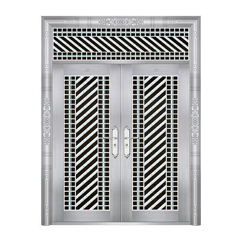 特种钢装门系列-JT-8801(六类花)