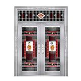 特种钢装门系列 -JT-8808(六类花)