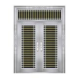 特种钢装门系列 -JT-8809(六类花)