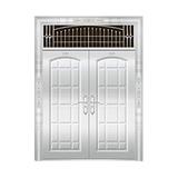 豪华不锈钢门 -JT-8979(整板门)