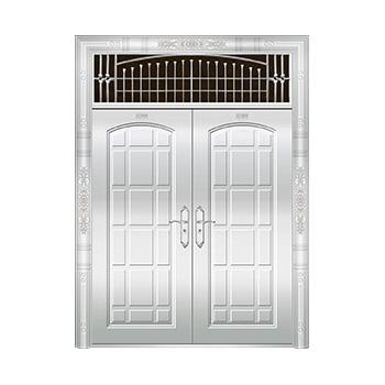 豪华不锈钢门-JT-8979(整板门)
