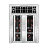 豪华不锈钢门 -JT-8933(四类花)