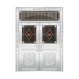 豪华不锈钢门 -JT-8945(四类花)