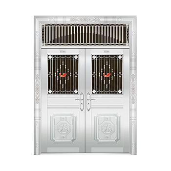 豪华不锈钢门-JT-8945(四类花)