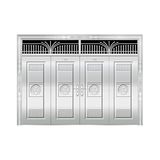 豪华不锈钢门 -JT-8975(整板门)