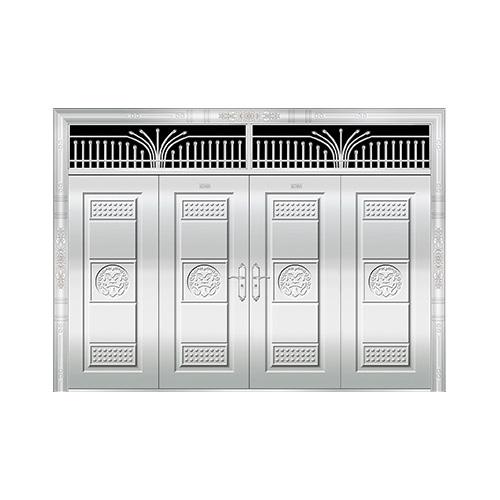 豪华不锈钢门-JT-8975(整板门)