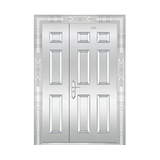 豪华不锈钢门 -JT-8978(整板门)