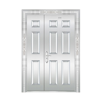 豪华不锈钢门-JT-8978(整板门)