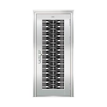 豪华不锈钢门-JT-9011(四类花)