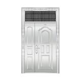 豪华不锈钢门 -JT-8971(整板门)