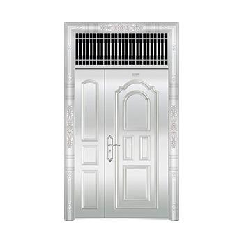 豪华不锈钢门-JT-8971(整板门)