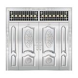 豪华不锈钢门 -JT-8973(整板门)