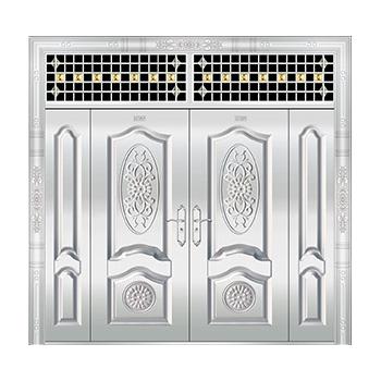 豪华不锈钢门-JT-8973(整板门)