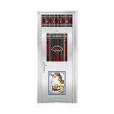 豪华不锈钢门 -JT-9001(精品花)