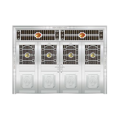 豪华不锈钢门-JT-8952(四类花)