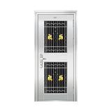 豪华不锈钢门 -JT-8992(三类花)
