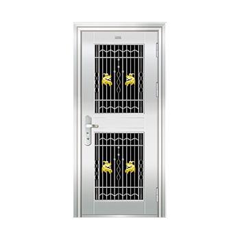 豪华不锈钢门-JT-8992(三类花)