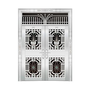 豪华不锈钢门-JT-8928(六类花)