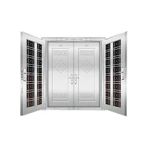 豪华不锈钢门-JT-8983(复合门)