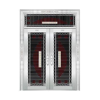 豪华不锈钢门-JT-8935(四类花)