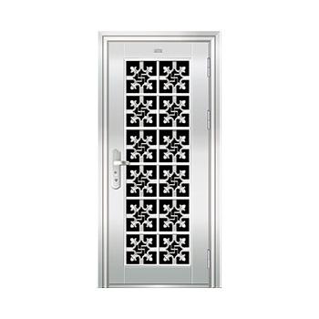 豪华不锈钢门-JT-9009(六类花)