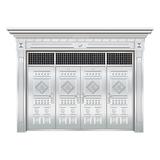 豪华不锈钢门 -JT-8982(整板门)