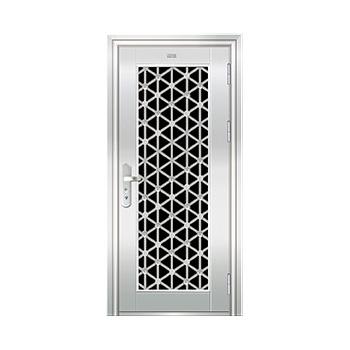 豪华不锈钢门-JT-9008(五类花)