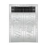 豪华不锈钢门 -JT-8977(整板门)