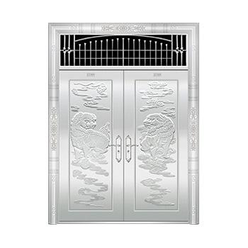 豪华不锈钢门-JT-8977(整板门)