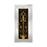豪华不锈钢门 -JT-8988(铸铝花)