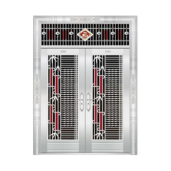 豪华不锈钢门-JT-8927(五类花)