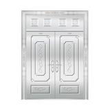 豪华不锈钢门 -JT-8976(整板门)