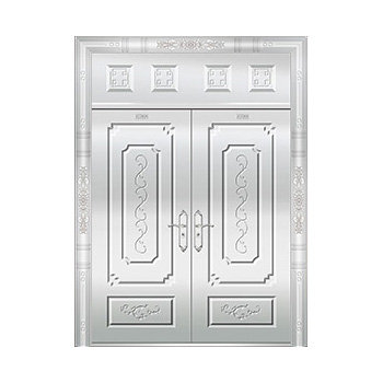 豪华不锈钢门-JT-8976(整板门)