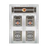豪华不锈钢门 -JT-8929(六类花)