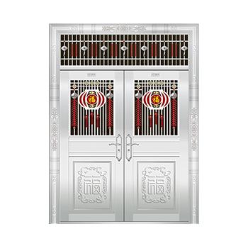 豪华不锈钢门-JT-8943(六类花)