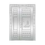 豪华不锈钢门 -JT-8981(整板门)