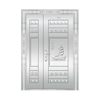 豪华不锈钢门-JT-8981(整板门)