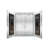 豪华不锈钢门 -JT-8985(复合门)