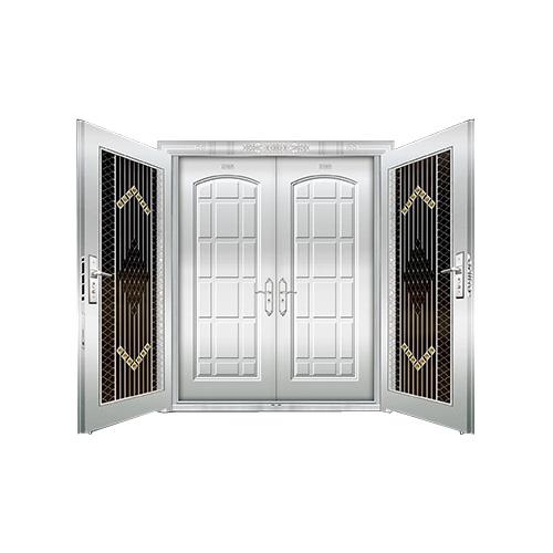 豪华不锈钢门-JT-8985(复合门)