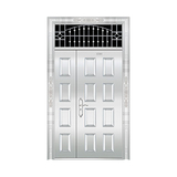 豪华不锈钢门 -JT-8972(整板门)